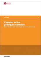Informe Equitat en les polítiques culturals